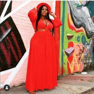 Dresses & Skirts - Red set